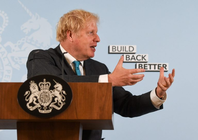 Boris Johnson apologises for not understanding his government's own coronavirus restrictions