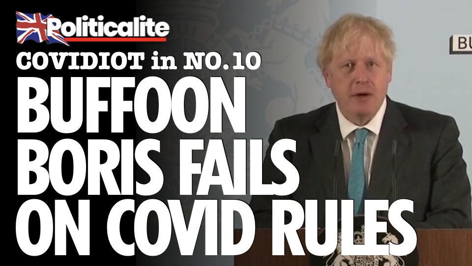 COVIDIOT! Prime Minister FAILS Test on HIS OWN Lockdown Rules