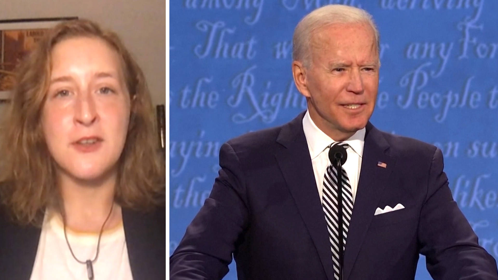 Kate Aronoff: The Climate Crisis Can't Take 4 More Years of Trump. We Must Push Biden from the Left