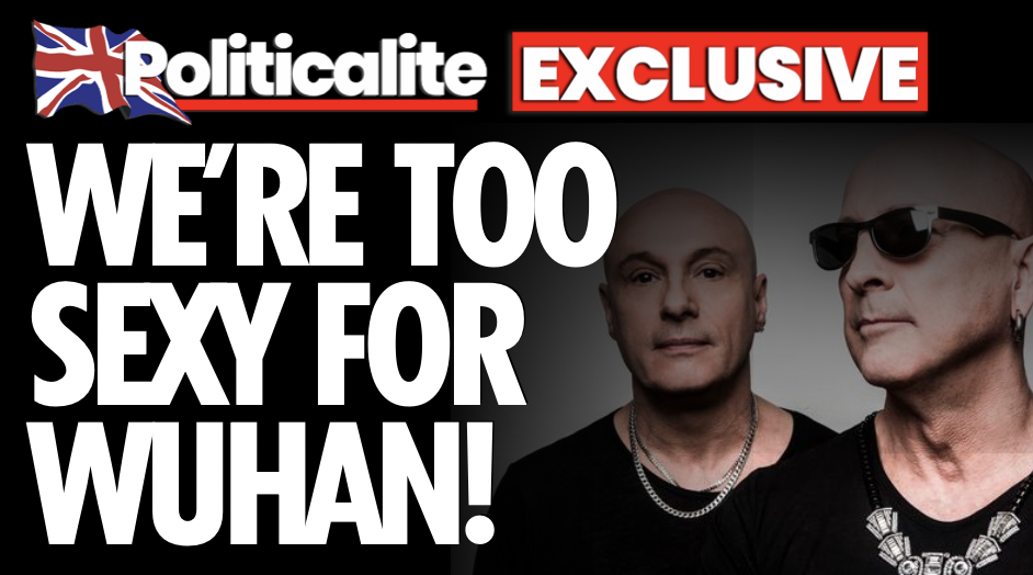 """TOO SEXY FOR WUHAN! Right Said Fred say they're """"NOT Against Masks… We Support Free Speech"""" – EXCLUSIVE"""