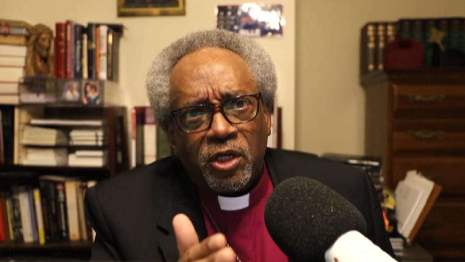 """Read more about the article """"Without Love, We Won't Make It"""": Bishop Michael Curry on Faith & What's at Stake in November"""