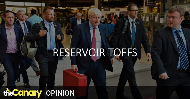 Read more about the article Boris Johnson isn't running a government, he's running a cartel