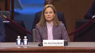Amy Coney Barrett Won't Say Climate Change Is Real; Forgets 1st Amendment Protects Right to Protest