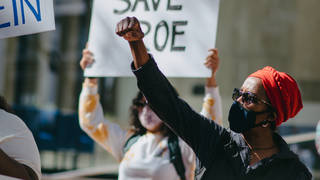 """Read more about the article """"Let the People Decide!"""" Protests at Amy Coney Barrett Hearing Decry GOP Power Grab, Attack on ACA"""
