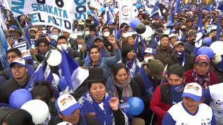 """A Blow Against Neoliberalism"": Socialist Wins Bolivian Election a Year After Coup Ousted Evo Morales"