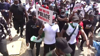 """We Are Asking for Justice"": #EndSARS Anti-Police Brutality Protests Grow as Nigerian Forces Kill 12"