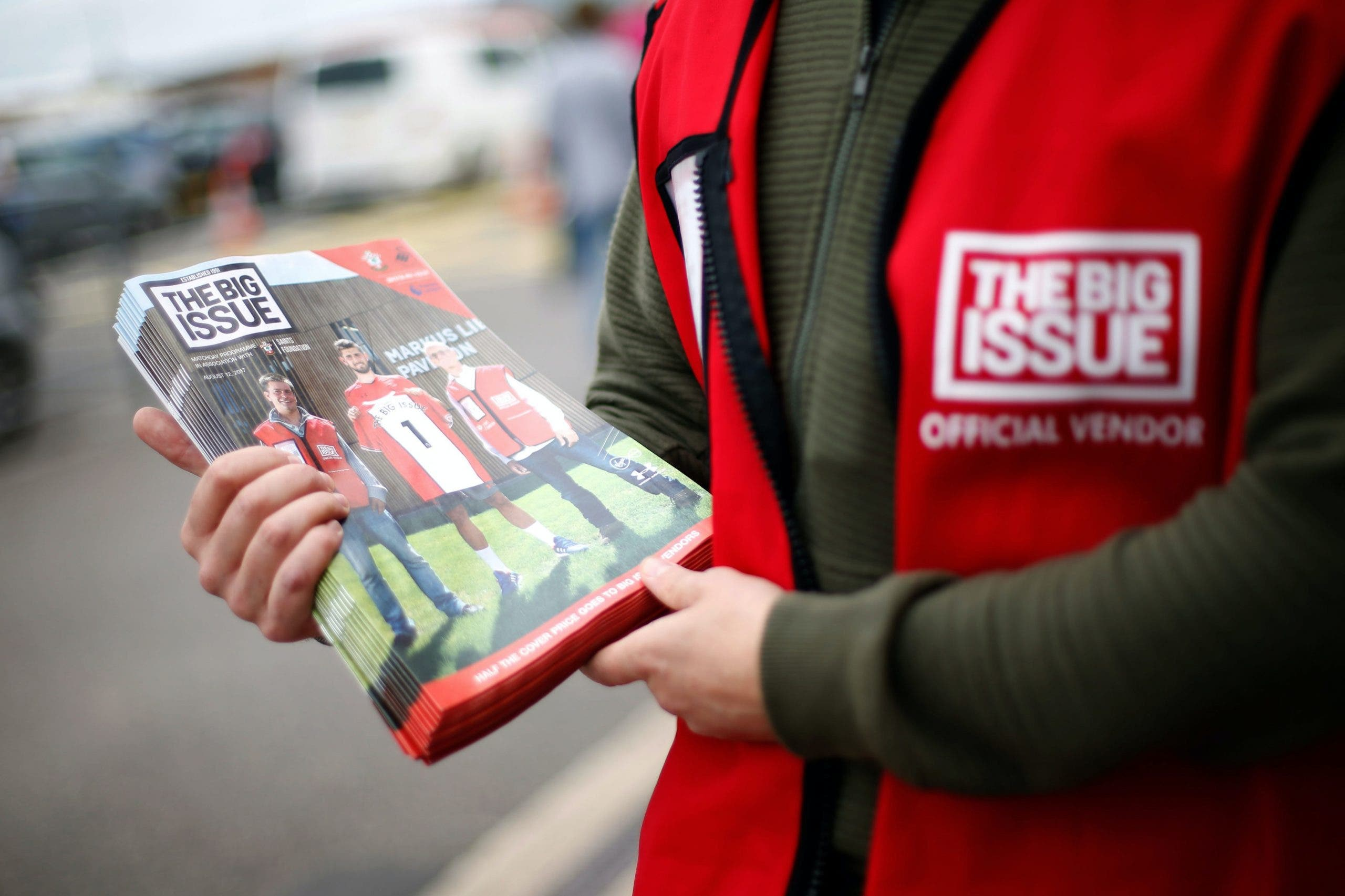 Big Issue highlights 'life-changing' support as sellers struggle