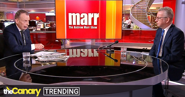 Marr just let Gove turn lying into a 'new art form'