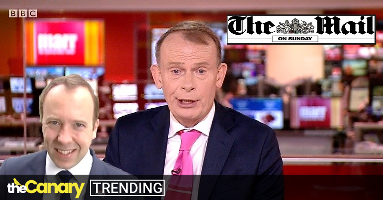 Marr outdoes himself by burying Hancock's Mail on Sunday embarrassment