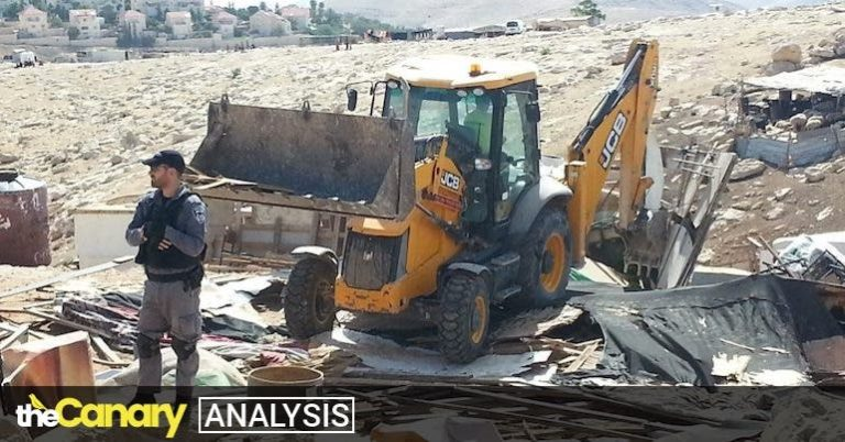 Tory donor JCB facing investigation over use of its equipment in Israel's demolition of Palestinian homes