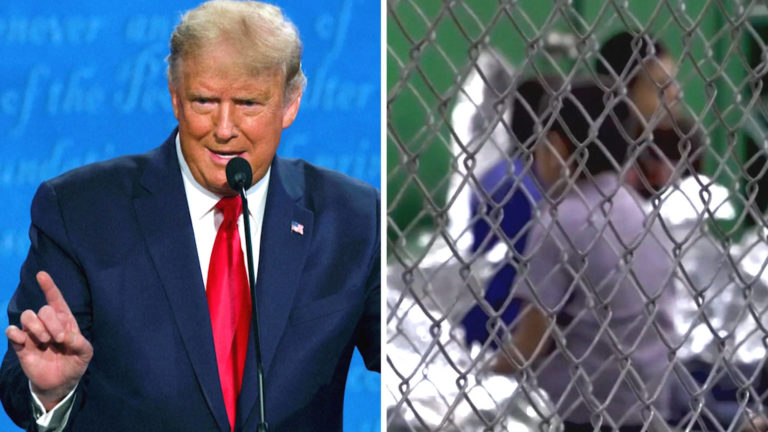 """Read more about the article """"It's Criminal"""": Biden Slams Trump as Gov't Can't Find Parents of 545 Children Separated At Border"""