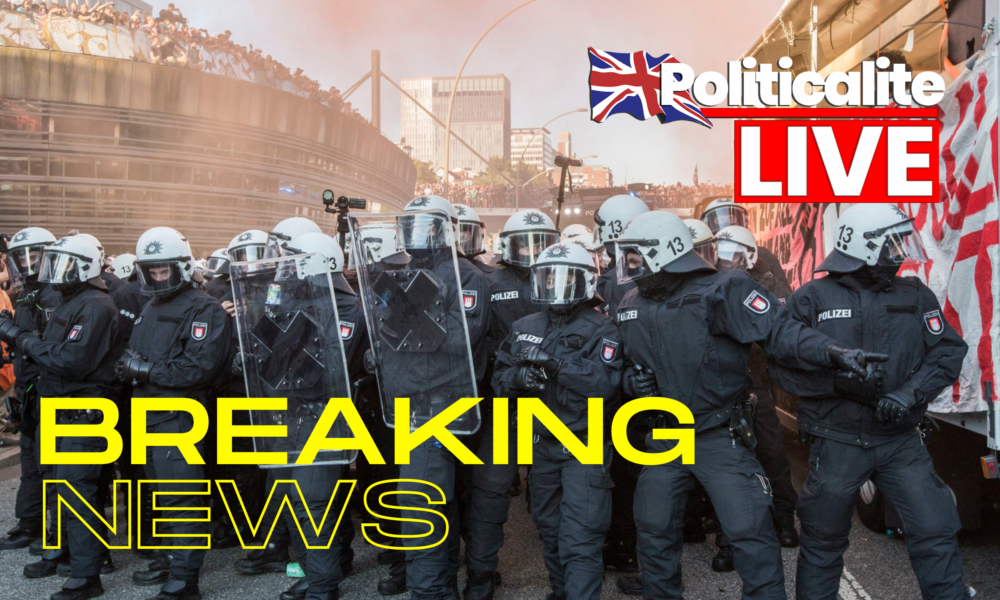 WATCH LIVE: Far-Right Clash With Counter-Protesters and Police in Berlin on German Unity Day