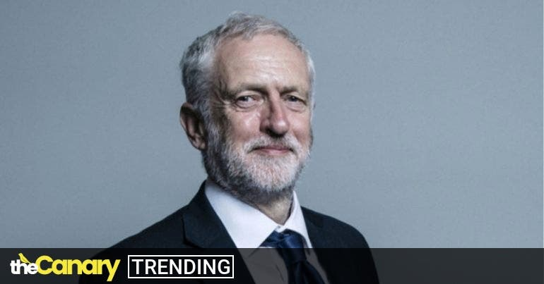 Jeremy Corbyn's shocking suspension is met with an outpouring of solidarity on social media
