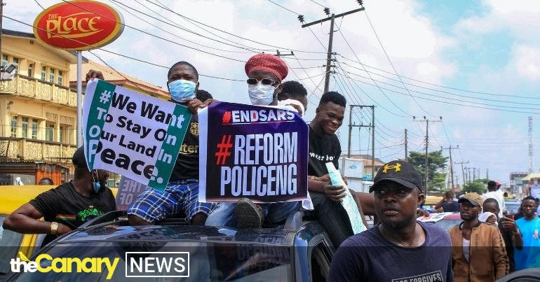 International outrage grows following the killing of peaceful protesters in Nigeria