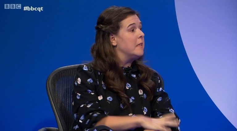 Read more about the article Comedian says she is 'disabled and proud' after Question Time speech