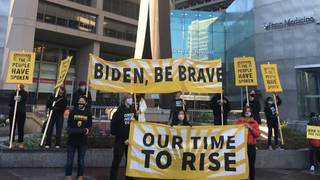 "Progressives Demand ""Corporate-Free Cabinet"" as Biden Taps Pharma & Fossil Fuel Allies for Top Jobs"