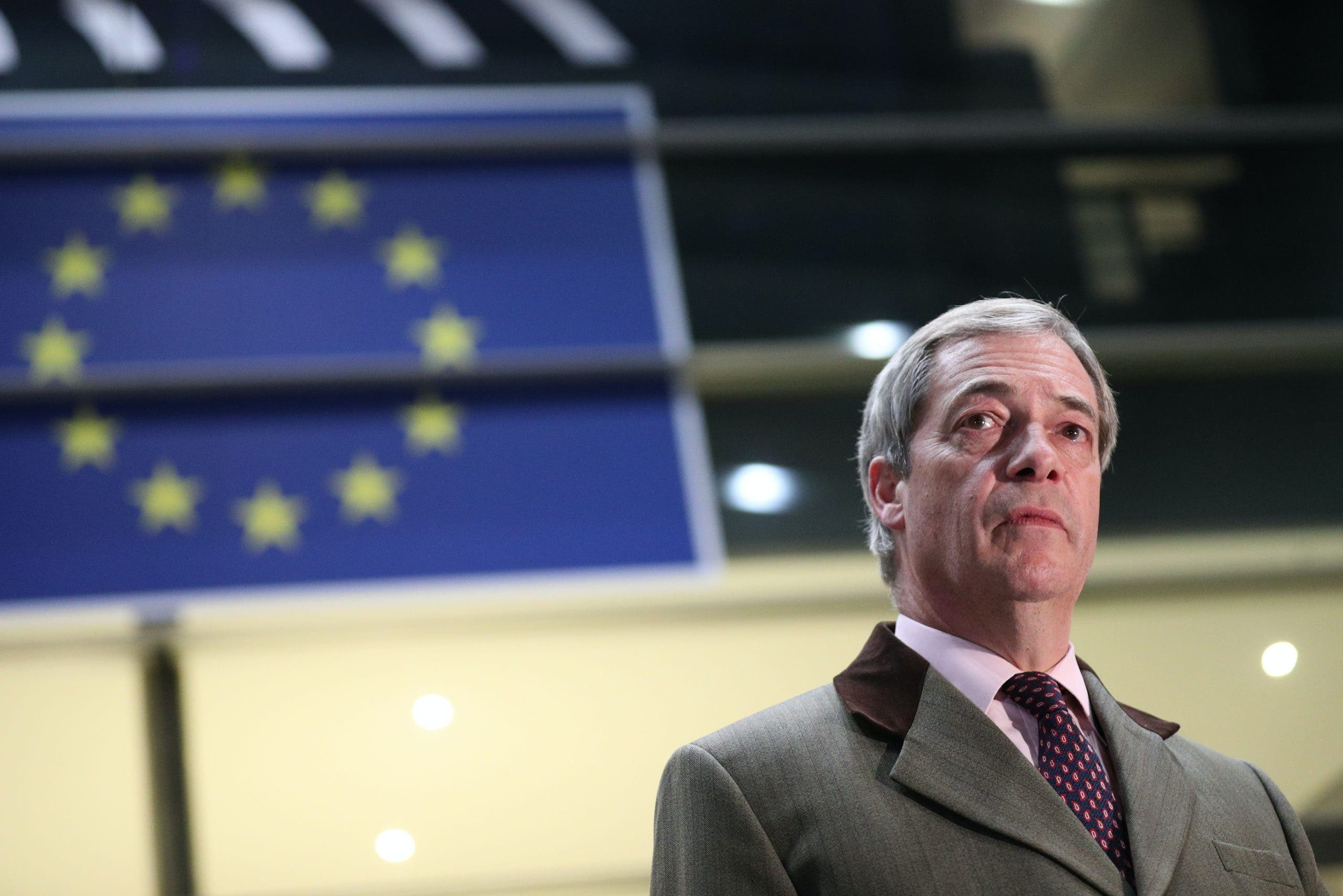 Farage is frantic about Brexit 'sell-out' due to Cummings exit
