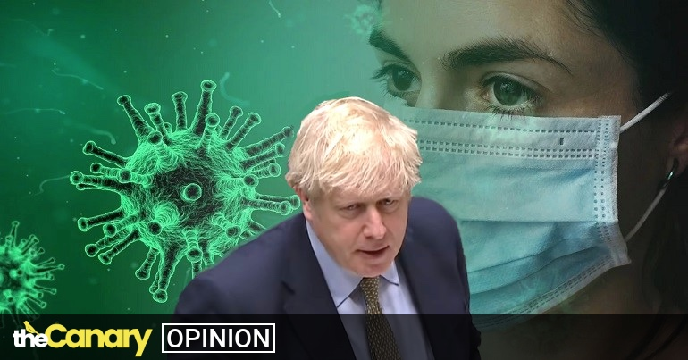 Read more about the article Boris Johnson shamelessly uses an MP's Covid diagnosis to plug his failed Test and Trace system