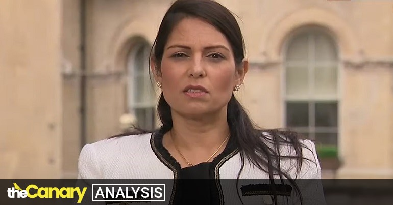 Priti Patel is at the centre of another growing storm