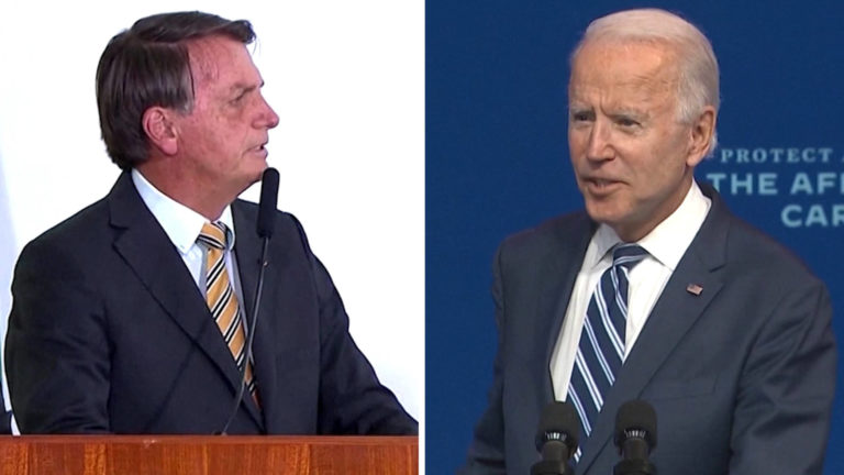Read more about the article Brazil: Trump Ally Bolsonaro Refuses to Acknowledge Biden Win & Downplays COVID as Death Toll Mounts