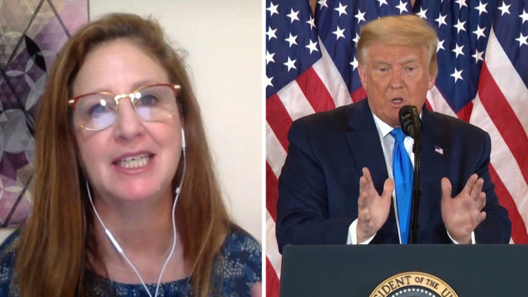 Read more about the article Dahlia Lithwick: Trump's Ridiculous Coup Attempt Will Fail, But It Will Hurt Democracy in Long Run