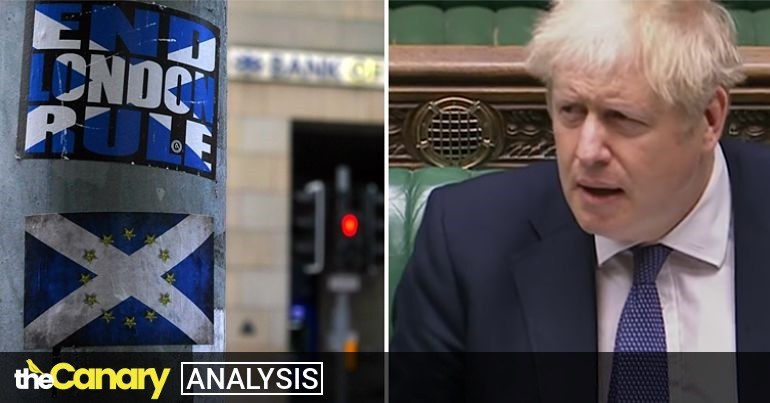 Another Boris Johnson 'disaster' just advanced Scottish independence