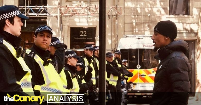 Netpol reveals 'institutional racism' in the policing of Britain's Black Lives Matter protests