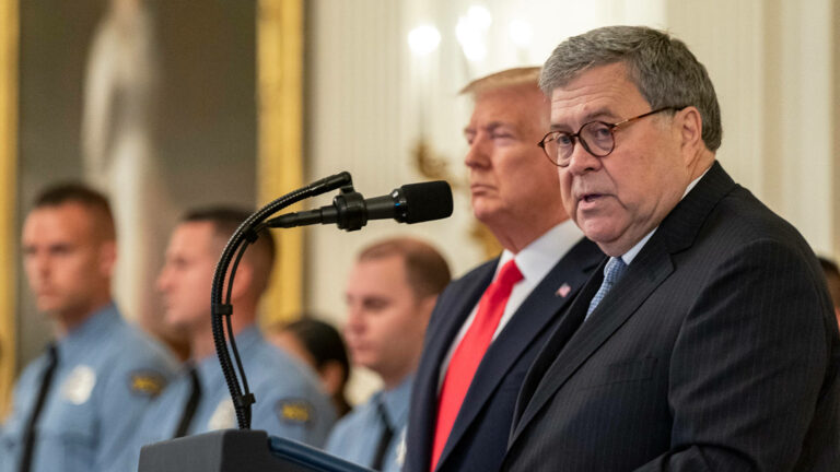 """Read more about the article William Barr Resigns as Attorney General After Acting as Trump's """"Enabler-in-Chief"""" at DOJ"""