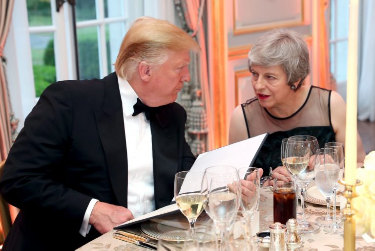 Read more about the article Theresa May's 'breathless wooing' of Donald Trump a great pity, says former speaker John Bercow