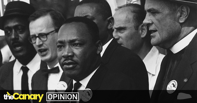 Read more about the article This Martin Luther King Jr. Day, let's not whitewash his what he stood for