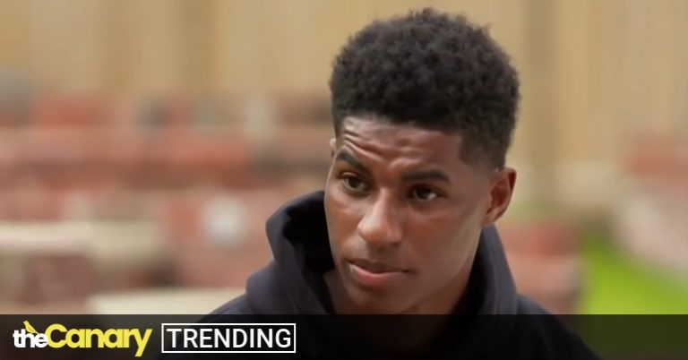 Read more about the article Marcus Rashford calls out 'not good enough' free school meal parcels