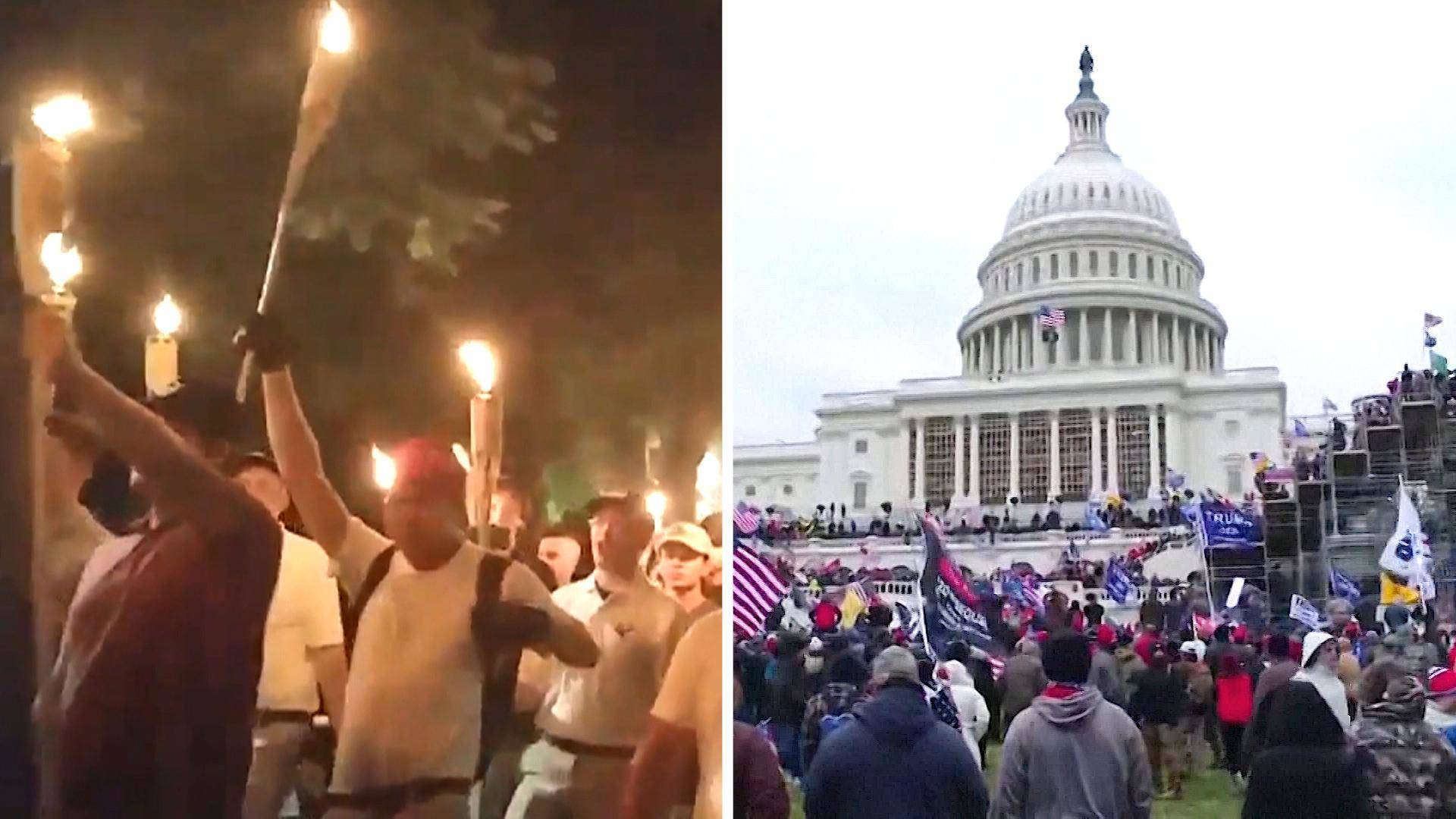 You are currently viewing From Charlottesville to the Capitol: Trump Fueled Right-Wing Violence. It May Soon Get Even Worse