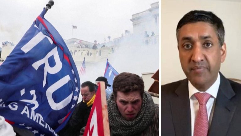 Read more about the article Rep. Ro Khanna: Republicans Should Back Impeachment After Trump Incited Mob Violence Against Them