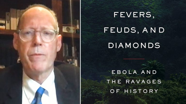 """Read more about the article Colonization Fueled Ebola: Dr. Paul Farmer on """"Fevers, Feuds & Diamonds"""" & Lessons from West Africa"""