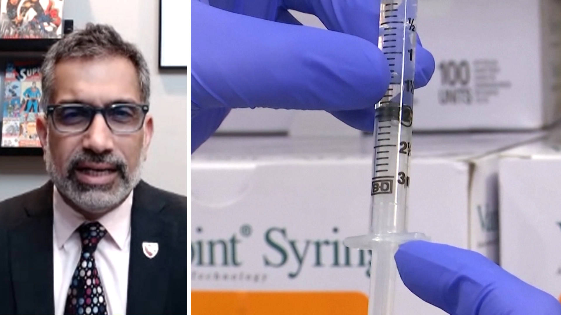 Read more about the article Dr. Ali Khan: U.S. Needs to Quickly Ramp Up Vaccinations as COVID Kills Over 4,000 in Single Day