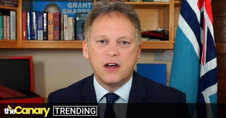 Read more about the article Just when things couldn't get any worse – enter clusterf*cking Grant Shapps