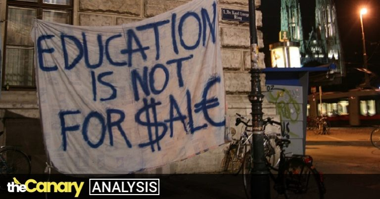 Read more about the article Once again the Tories throw students under the bus