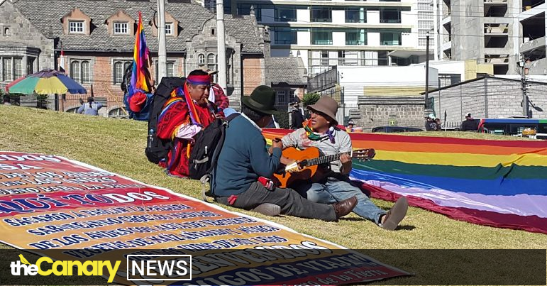 Read more about the article The left eyes victory as Ecuador goes to the polls