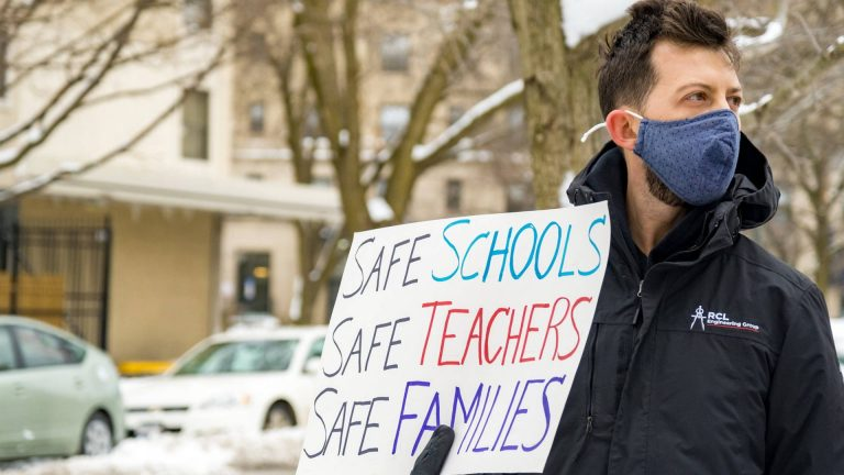 Read more about the article Teacher Unions: We Want to Reopen Schools as Well, But We Need Vaccines & Resources to Do It Safely