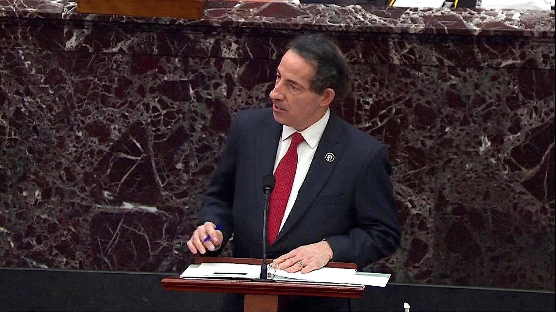 """Read more about the article """"This Cannot Be the Future of America"""": Rep. Jamie Raskin Gives Moving Account of Capitol Attack"""