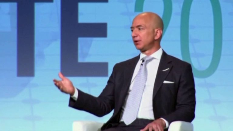 """Read more about the article Jeff Bezos to Quit as CEO, But Amazon's """"Predatory Business Model"""" Will Continue Unless Lawmakers Act"""