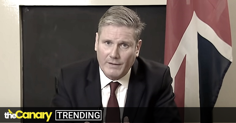 Read more about the article Now Keir Starmer thinks beating the war drum will win votes