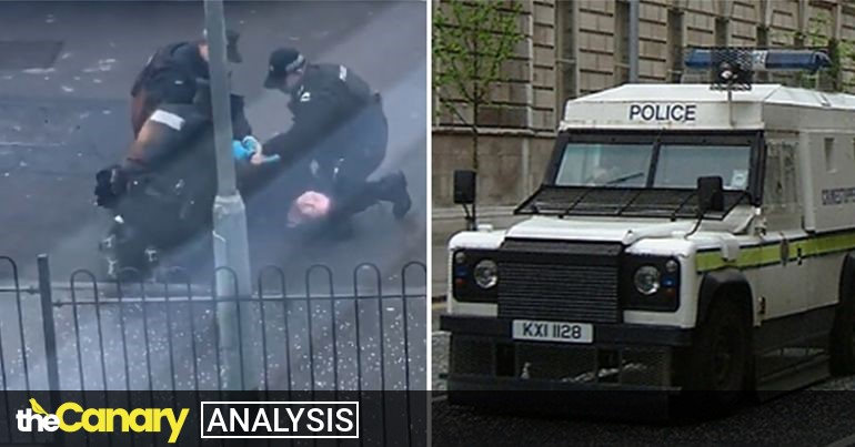 Read more about the article As British loyalists threaten peace, police arrest Irish republicans