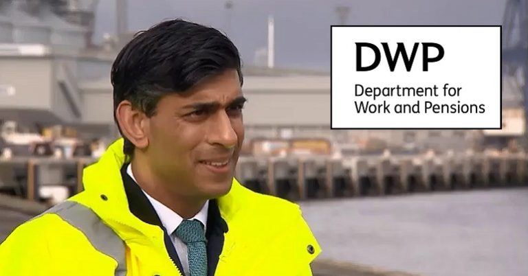 Read more about the article Rishi Sunak just made a shocking DWP admission