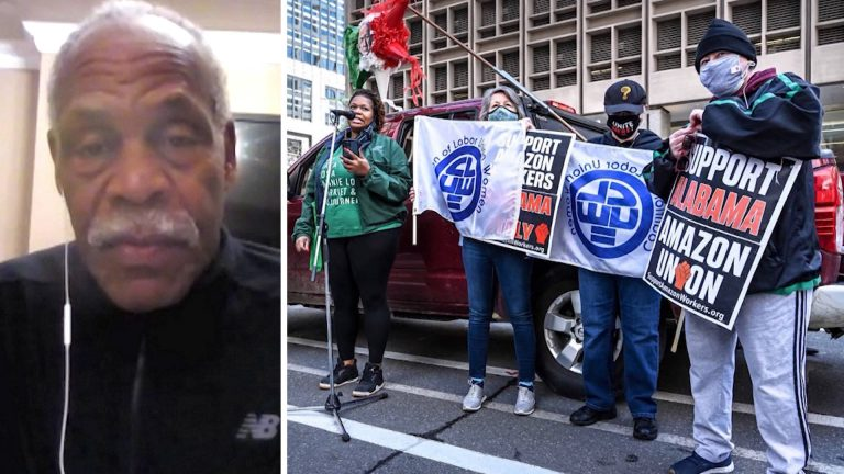 Read more about the article Danny Glover on Amazon Union Drive, the Power of Organized Labor & Centuries of Resistance in Haiti