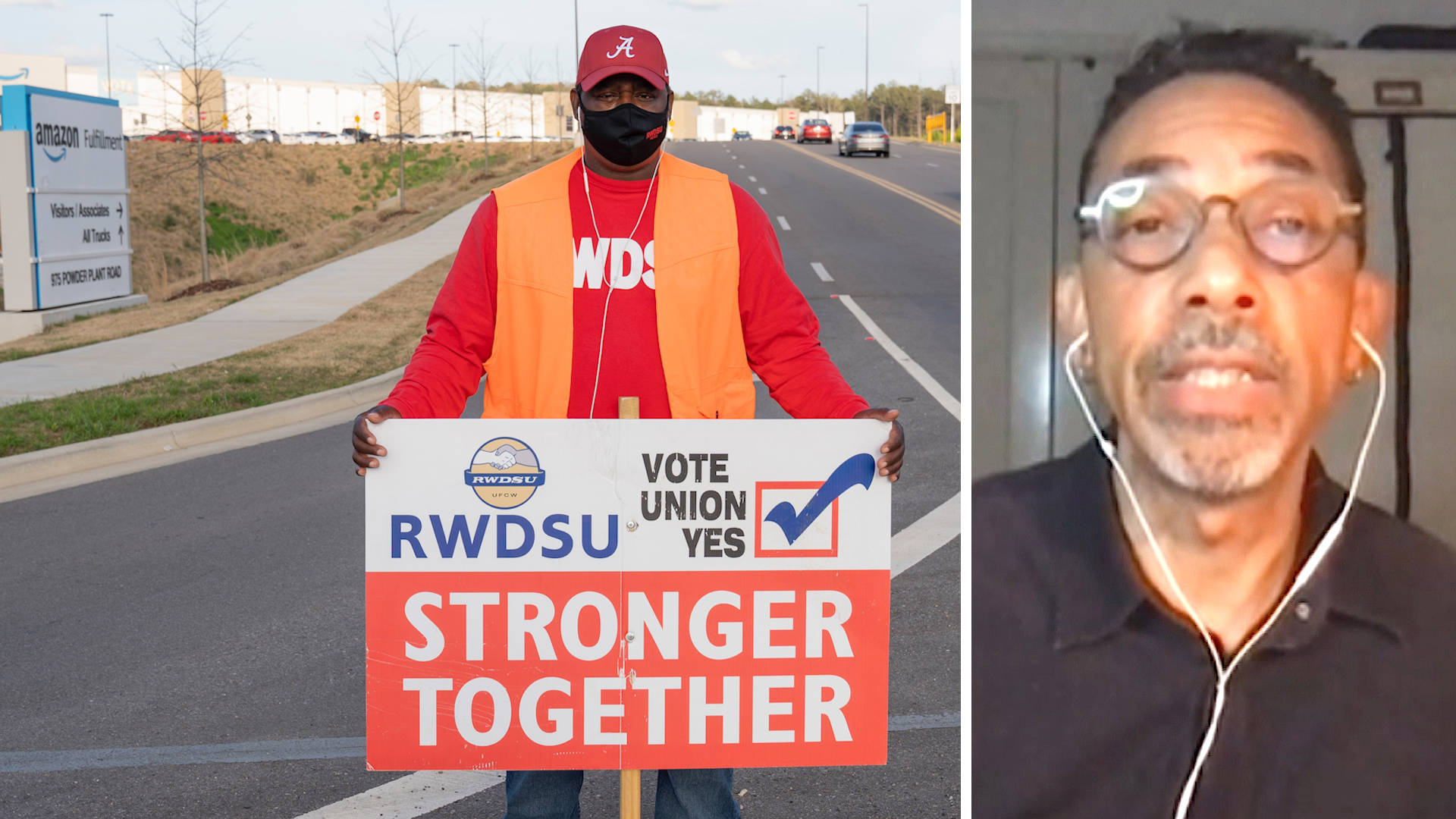 Read more about the article Robin D.G. Kelley: Amazon Union Drive Builds on Decades of Black Radical Labor Activism in Alabama