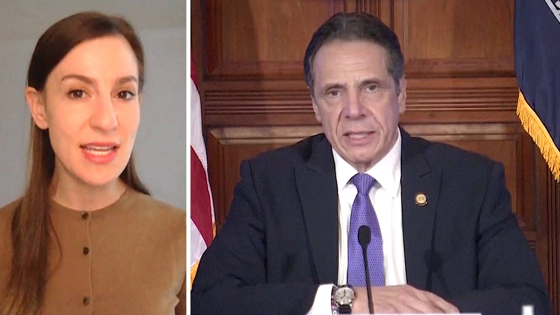 Read more about the article NY State Senator Alessandra Biaggi Says Cuomo Has Abused His Power for Years & Must Resign