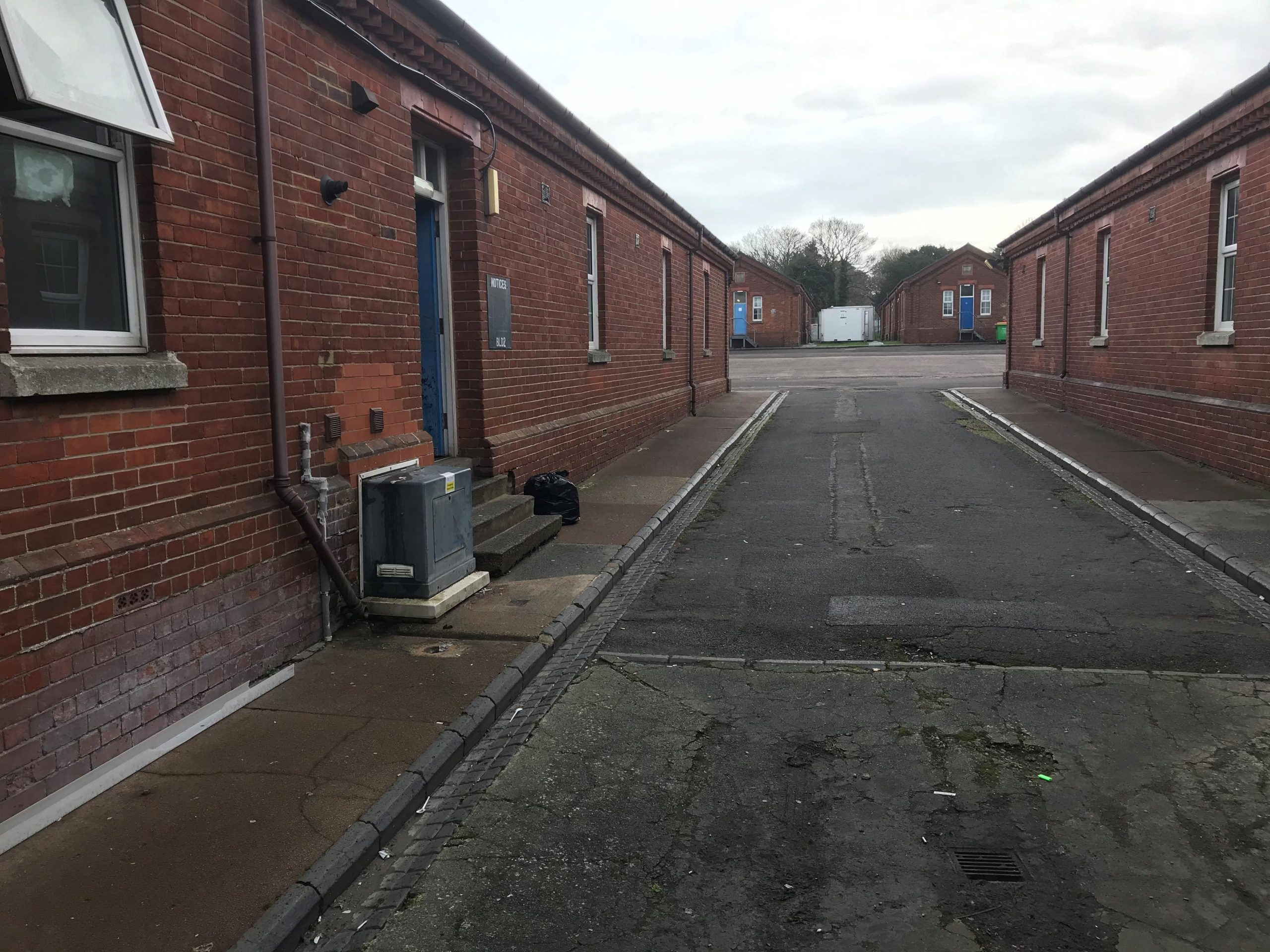 Read more about the article The Home Office is forcing people back to Napier barracks to face 'prison like' conditions