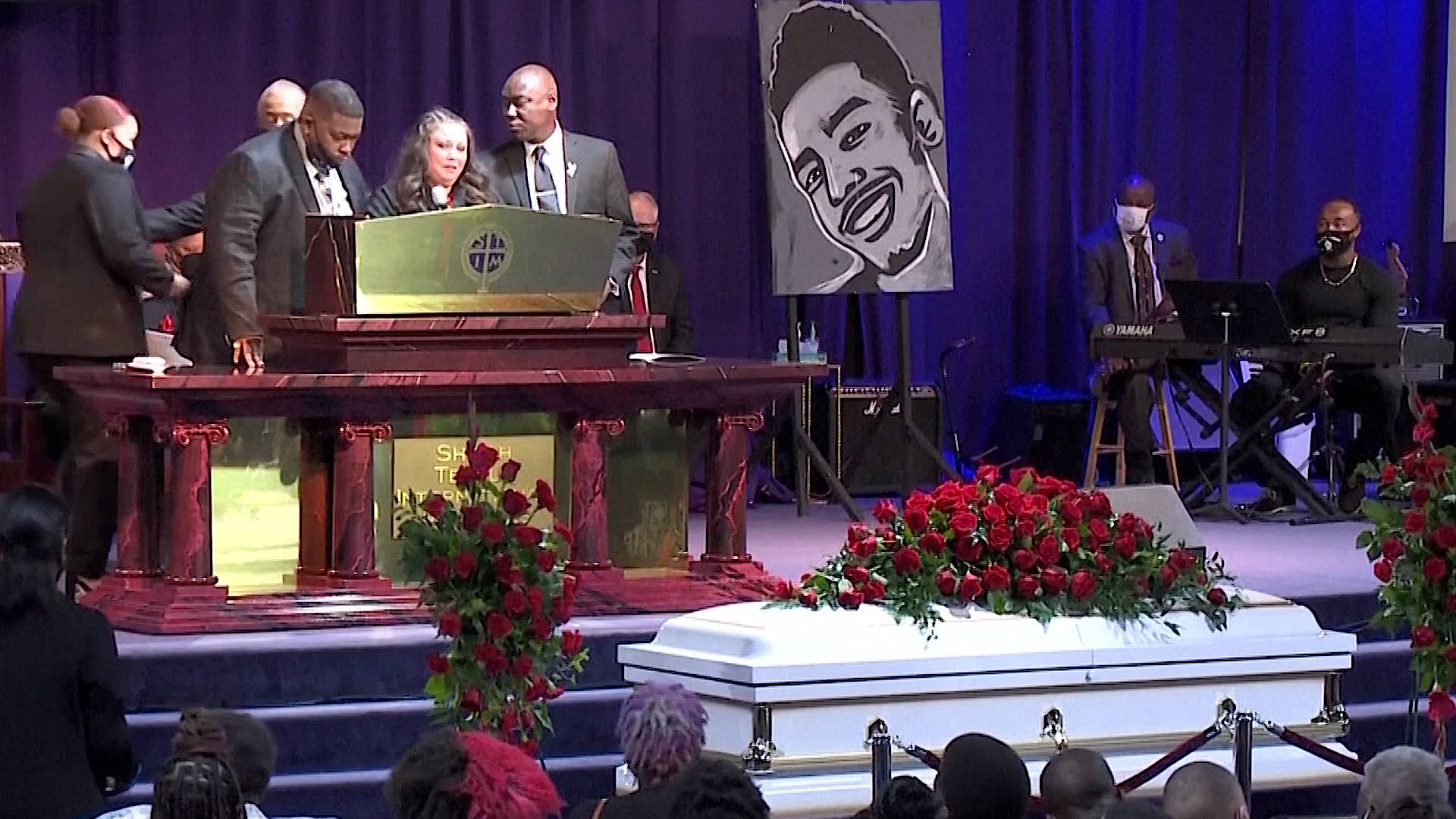 """Read more about the article """"He's Going to Be So Missed"""": Funeral Held for Police Shooting Victim Daunte Wright in Minneapolis"""