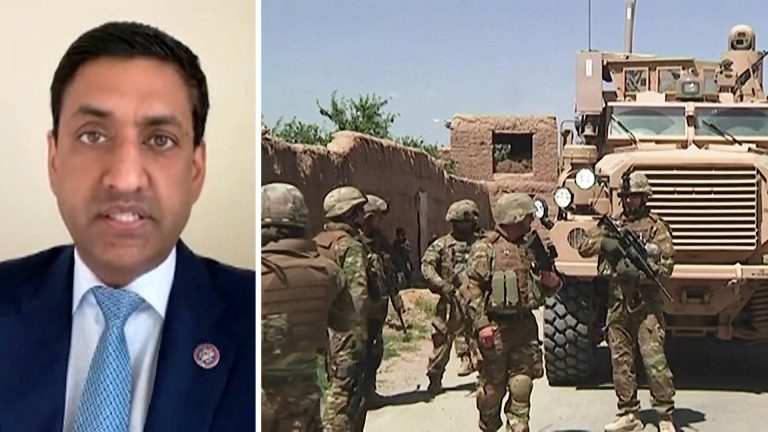 """Read more about the article """"A Courageous Decision"""": Rep. Ro Khanna Praises Biden's Plan to End the """"Forever War"""" in Afghanistan"""